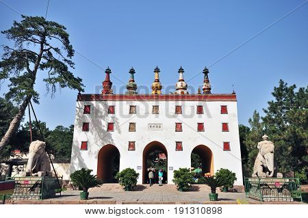 Chengde, China - September 20, 2009:exterior Of The Putuo Zongcheng Temple Is A Buddhist Temple Grou