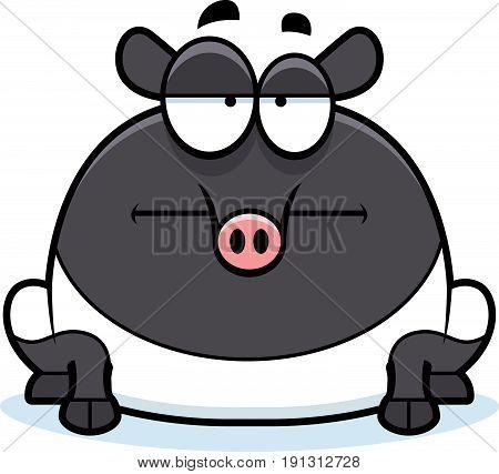 Bored Cartoon Tapir