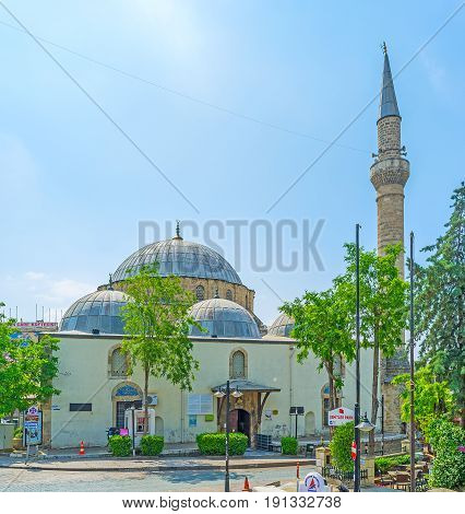 Tekeli Mehmet Pasa Mosque In Antalya