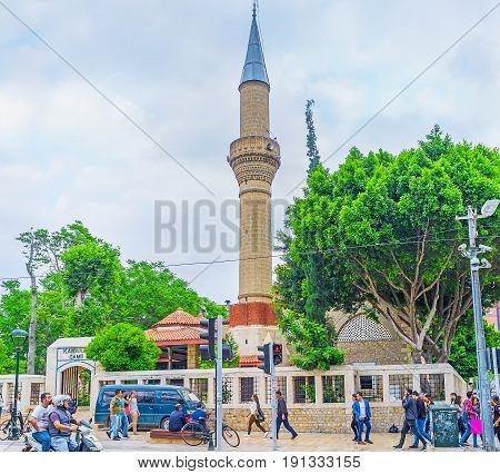 The Mosque In Ataturk Avenue