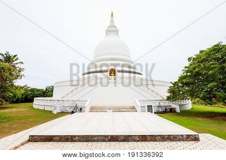 The Unawatuna Peace Pagoda