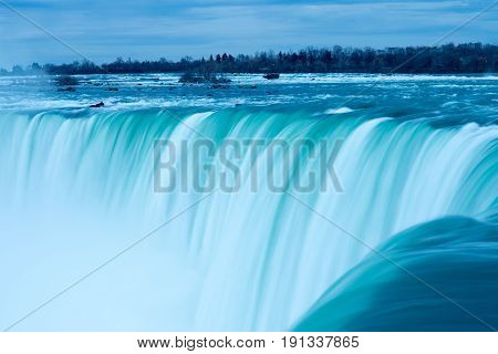 A View of the Horseshoe Fall, Niagara Falls, Ontario, Canada