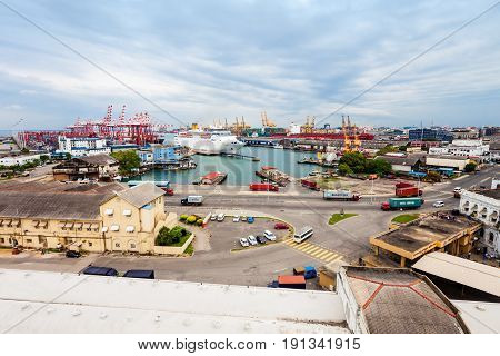 The Port Of Colombo