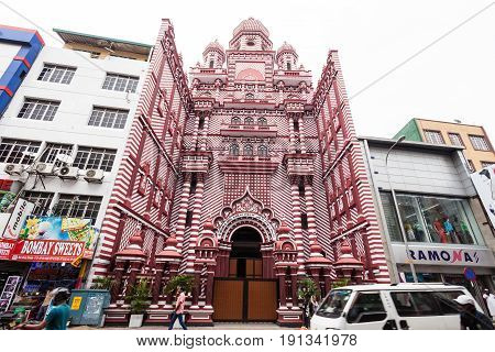 Jami-ul-alfar Red Mosque, Colombo