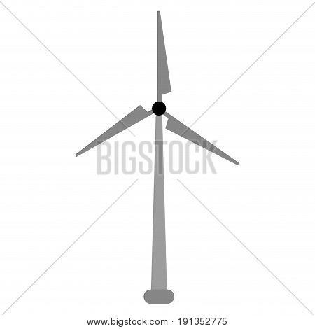 windmill energy alternative icon vector illustration design