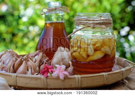 Garlic In Bee Honey, Remedy Skin Care