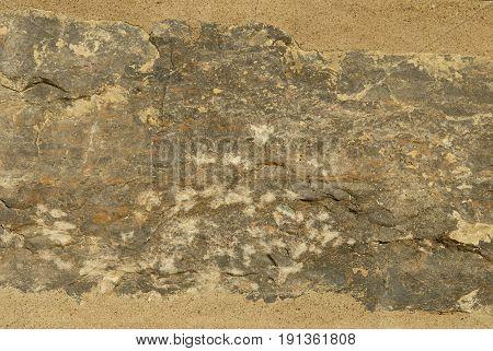 Tan, Orange, and grey Stone Grunge Background