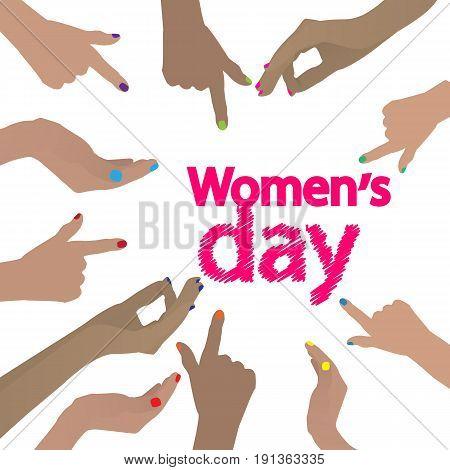 International Women's Day. Feminism