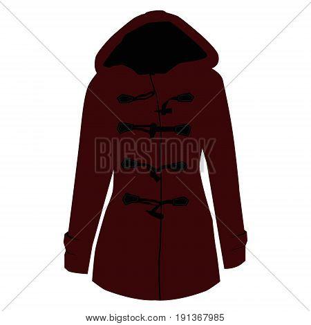 Coat Design Vector