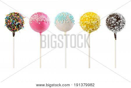Set Of Cake Pops