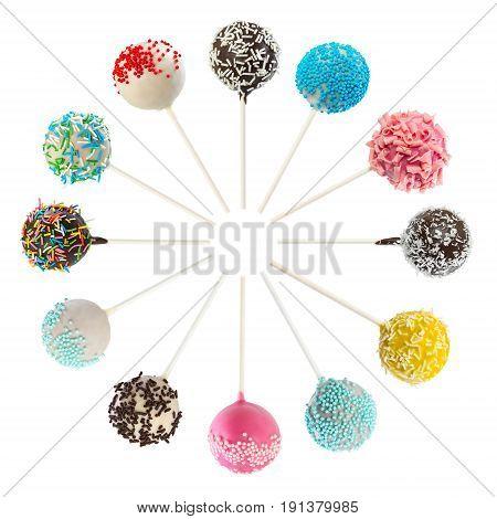 Set Of Various Cake Pops