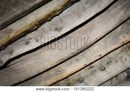 Wooden planks table abstract background