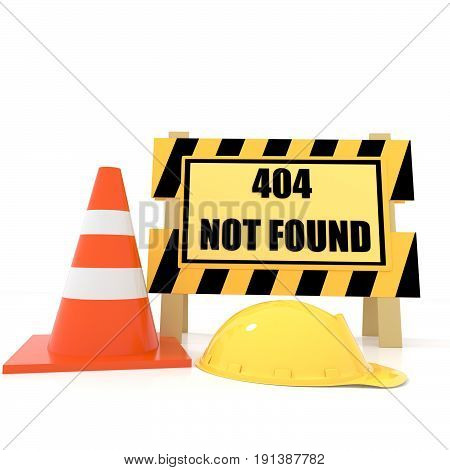 404 not found error on isolated white in 3D rendering