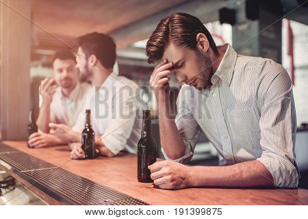 Businessmen In Bar