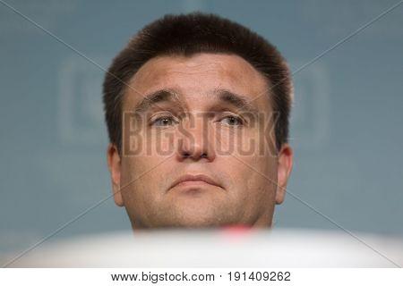 Minister Of Foreign Affairs Of Ukraine Pavlo Klimkin