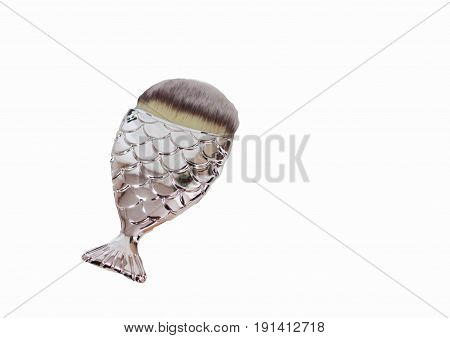 Brush fish tail make-up brush make-up tool brush for tonal basis
