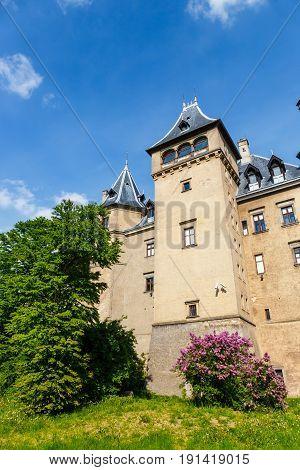 Renaissance Style Castle Located In Goluchow Near Kalisz, Poland