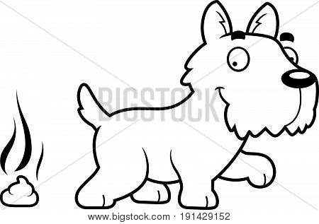 Cartoon Scottie Poop