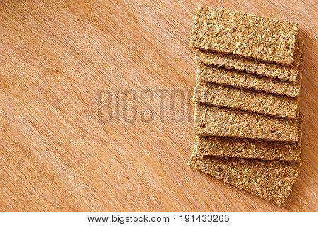 Bread made from grains of different cultures