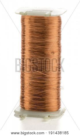 Copper Coil Isolated