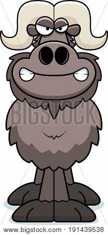 Angry Cartoon Ox