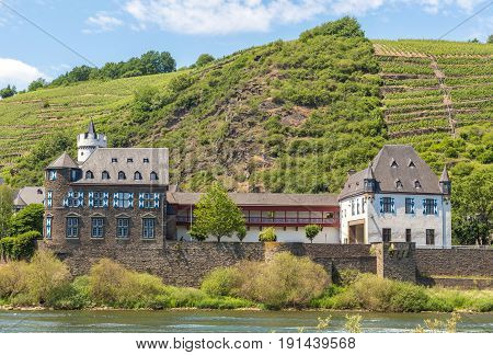 View Of Kobern-gondorf On The Moselle Panorama