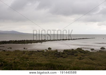 Blackrock Beach on a dull spring day