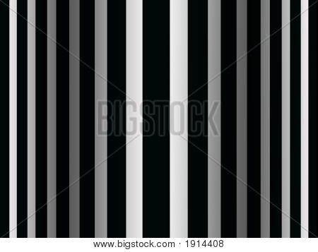 Op Art Bulging Stripes One