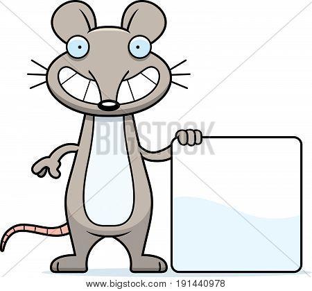 Cartoon Mouse Sign