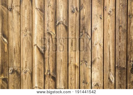 a wall background made of brown wooden
