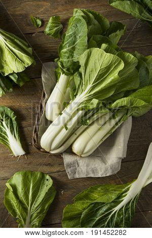 Raw Green Organic Bok Choy