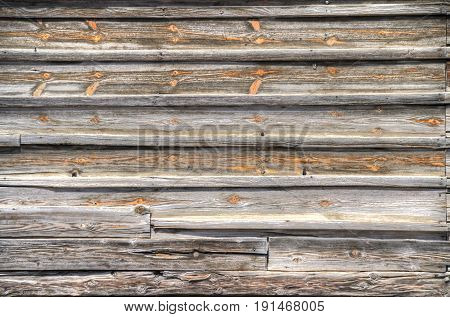 Weathered horizontal wood plank texture in High Dynamic Range.