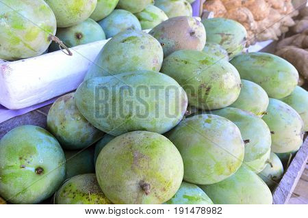 Fresh mango fruit ready for you to peel and eat