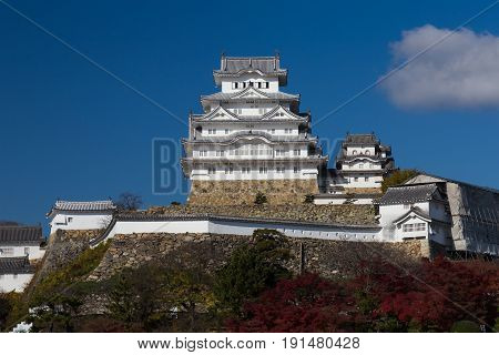 Himeji castle the world heritage historical Japanese Landmark