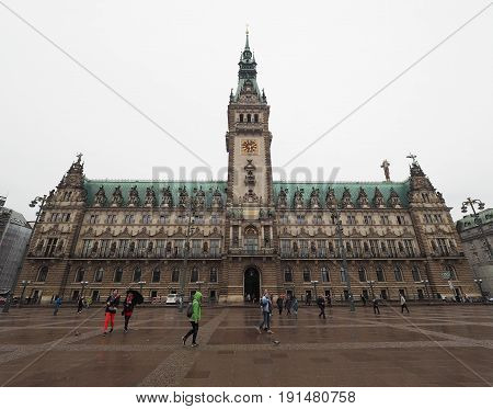 Hamburg Rathaus City Hall