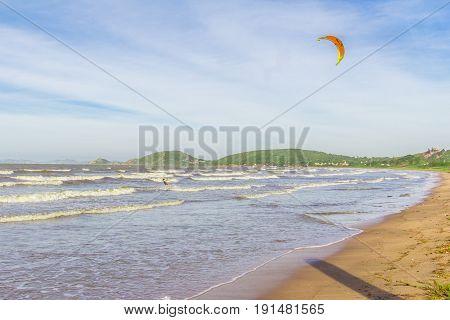 Buzios, Brazil - June 08 2017. Rasa Beach In Buzios