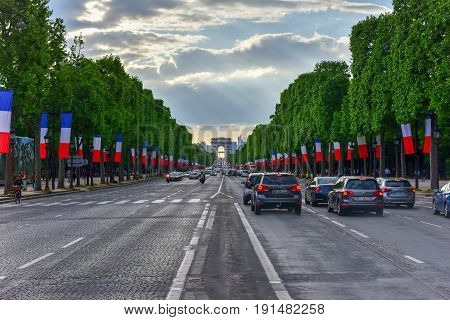 Champ Elysees - Paris, France