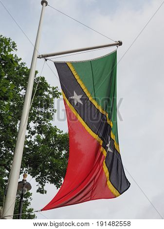 Kittitian Nevisian Flag Of St Kitts And Nevis