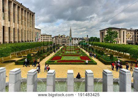Mont Des Arts - Brussels, Belgium