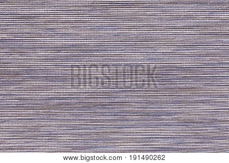 Textile Texture Close Up of Purple and Brown Fabric Pattern Background with Copy Space for Text Decorated.