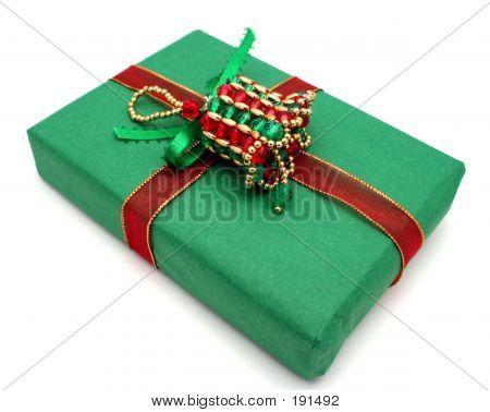 Green Christmas Gifr