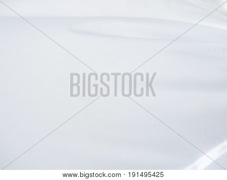 silk fabric wallpaper texture pattern background in white and grey color tone Fine natural silk detail textured textile backdrop