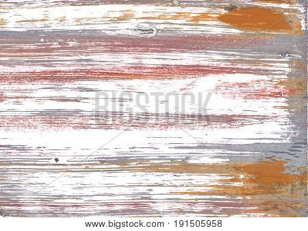 Hand-drawn abstract watercolor. Used colors: White Snow Grullo Spanish gray Cultured Cinereous Copper Rosy brown Baby powder Pale taupe Tuscany Light taupe