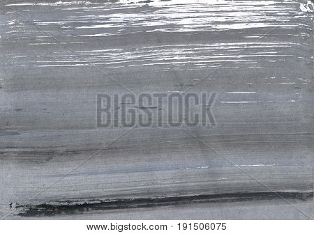Hand-drawn abstract watercolor. Used colors: Gray Roman silver Spanish gray Philippine gray Sonic silver Manatee Battleship grey Taupe gray Metallic silver
