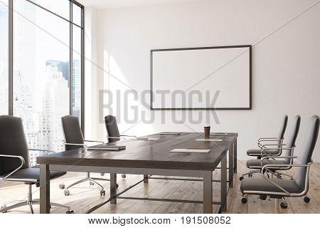 Horizontal Poster Meeting Room Interior