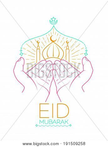 Icon  Eid Mubarak Prayer