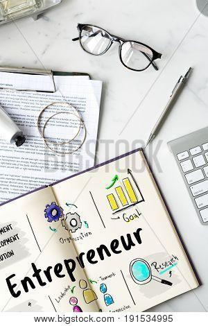 Business plan entrepreneur investment diagram