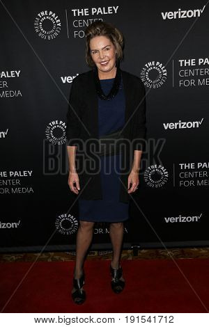 NEW YORK - MAY 17: Lesley Visser attends The Paley Honors: Celebrating Women in Television at Cipriani Wall Street on May 17, 2017 in New York City.