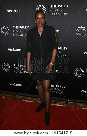 NEW YORK - MAY 17: Jackie Joyner-Kersee attends The Paley Honors: Celebrating Women in Television at Cipriani Wall Street on May 17, 2017 in New York City.