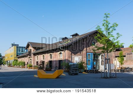 Karlsruhe Alter Schlachthof Area Startup Business Center Restaurants Buildings